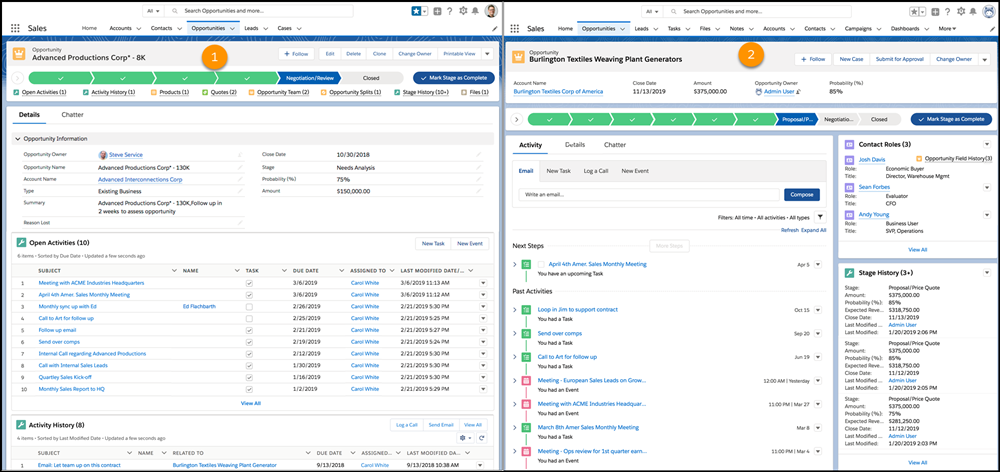 Full View Layout in Salesforce Summer '20 Release